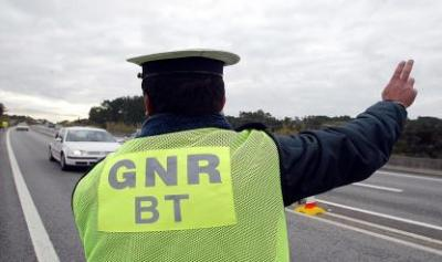 GNR registou esta quarta-feira, mais de 40 infrações rodoviárias, no distrito de Évora (c/som)