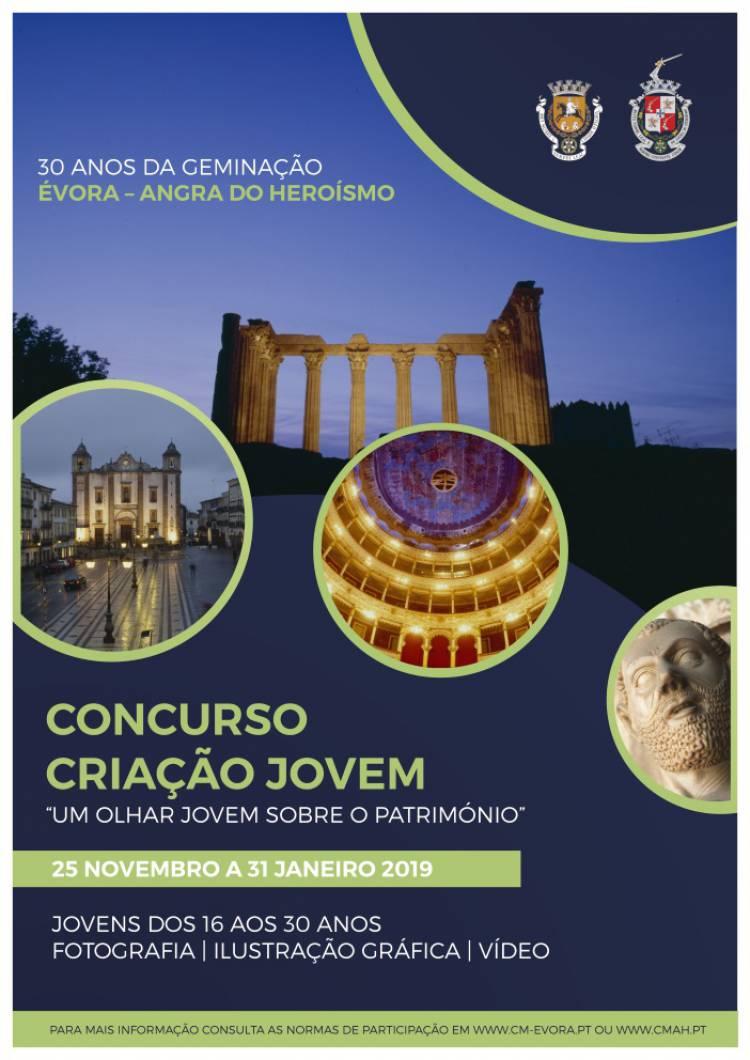Municípios de Évora e Angra do Heroísmo promovem Concurso de Criação Jovem