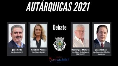 Autárquicas 2021: Em vídeo o debate dos candidatos à Câmara Municipal de Alandroal