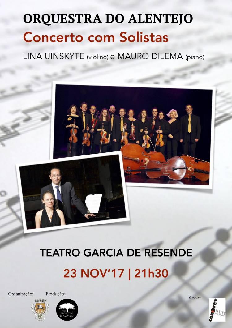 Orquestra do Alentejo realiza concertos em Beja e Évora