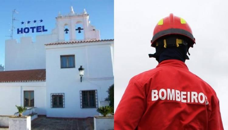 Fuga de gás em hotel de Elvas provoca algum alarmismo