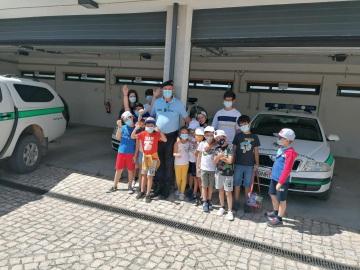Destacamento territorial de Estremoz recebeu a visita de 43 crianças