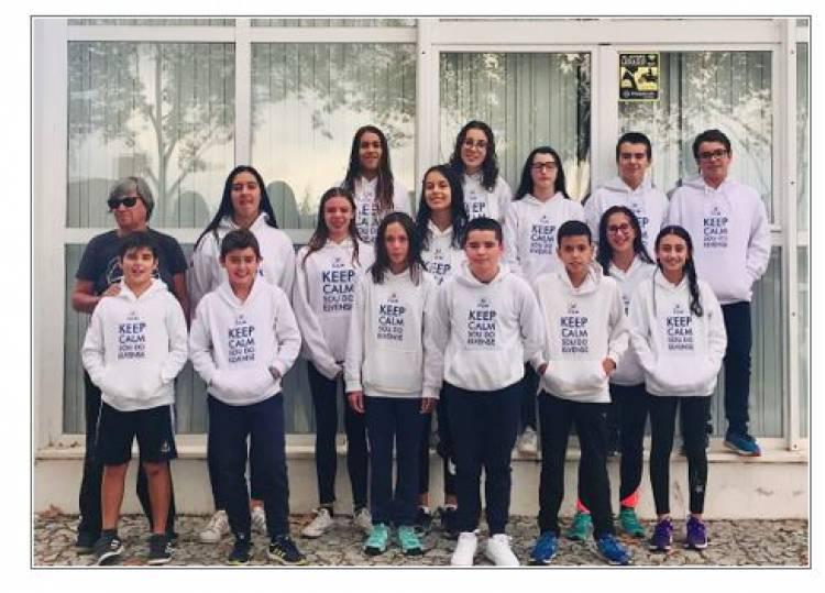 Clube Elvense de Natação venceu o torneio de Aniversario da Aminata em Piscina Curta