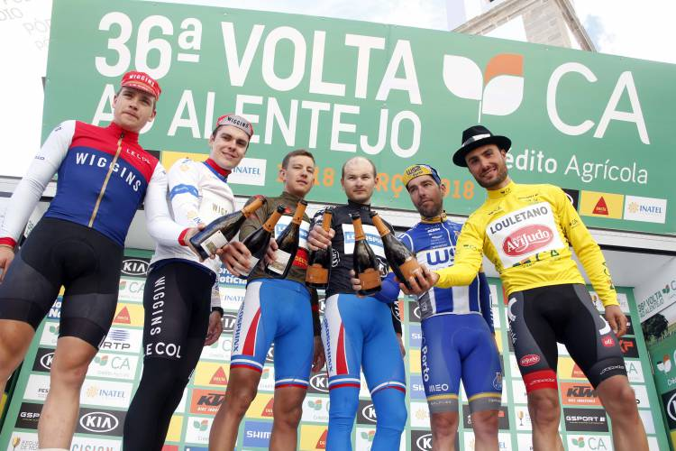 Luis Mendonça venceu a 36ª Volta ao Alentejo em Bicicleta (c/som)