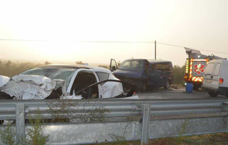 Médico sofre enfarte ao assistir vítimas do acidente no IP2 esta sexta-feira