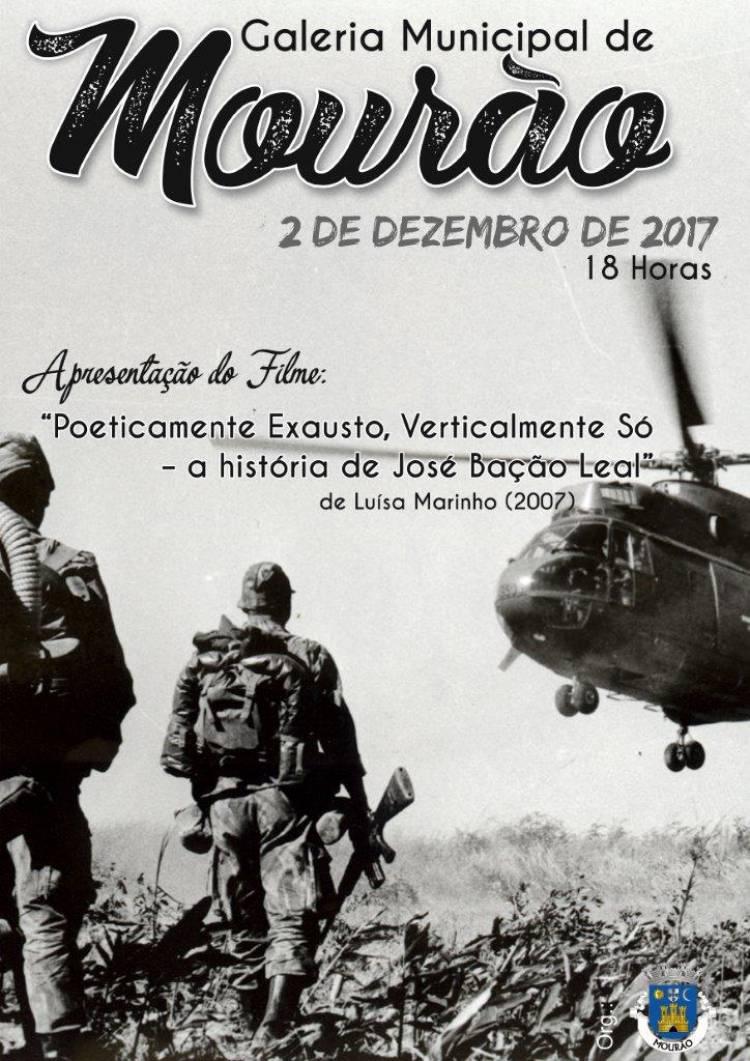 """Mourão apresenta o filme """"Poeticamente Exausto, Verticalmente Só"""""""