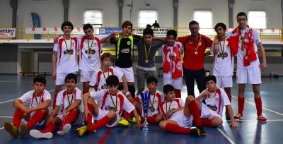 FC Crato vence Taça Distrital de Futsal no escalão de Iniciados