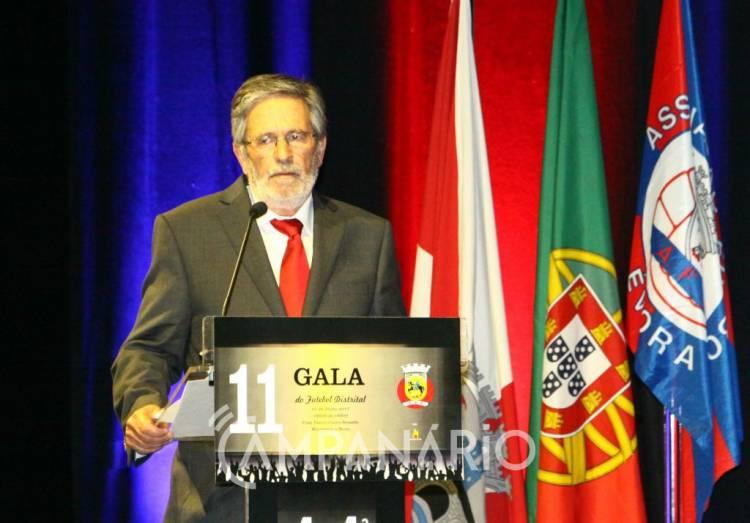 """Segunda Liga distrital terá """"mais de 50% de redução de custo"""", diz Presidente da Associação de Futebol de Évora na 11ª Gala (c/som e fotos)"""