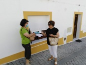 COVID-19: Câmara de Alvito distribui máscaras reutilizáveis à população