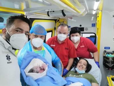 Menino nasce em ambulância dos Bombeiros Voluntários de Castro Verde