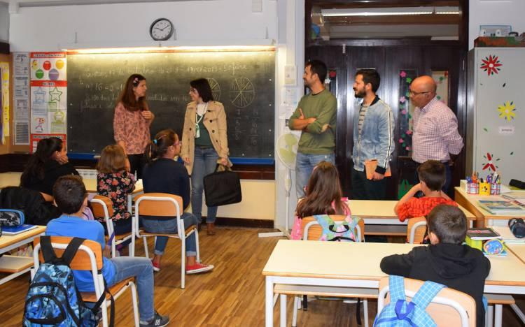 """Alunos, pais e professores participam em projeto para criar escola mais """"verde"""" em Évora"""