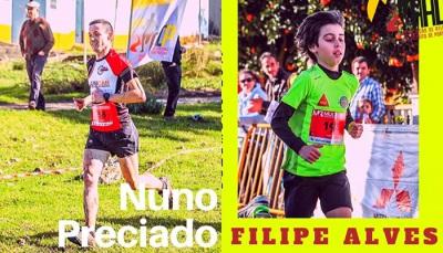 Nuno Preciado e Filipe Alves atletas AADP do mês de Dezembro