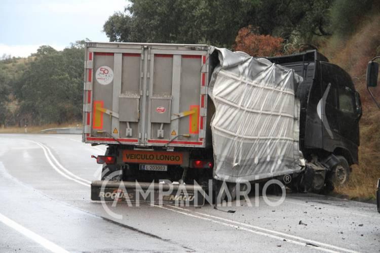 Despiste de pesado de mercadorias faz ferido grave entre Borba e Terrugem (c/fotos)