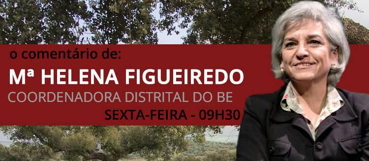 """Restrição no consumo de água """"nunca é uma medida popular, sobretudo em ano de eleições"""" diz Maria Helena Figueiredo no seu comentário semanal (c/som)"""