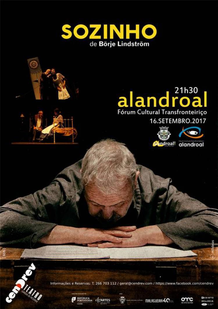"""Alandroal receberá peça de teatro """"Sozinho"""""""