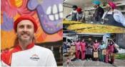 Chef Chakall confecionou mais de 8000 refeições em homenagem aos profissionais de saúde