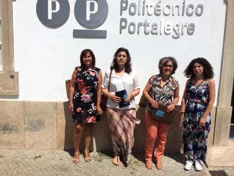 Candidatura de Portalegre da CDU reúne com o Instituto Politécnico de Portalegre