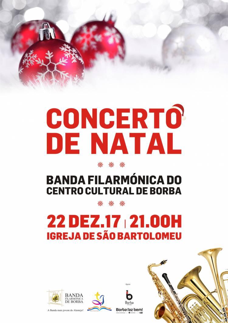 Banda Filarmónica de Borba promove concerto de Natal