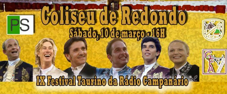 Bilhetes para o festival taurino da Rádio Campanário já estão à venda