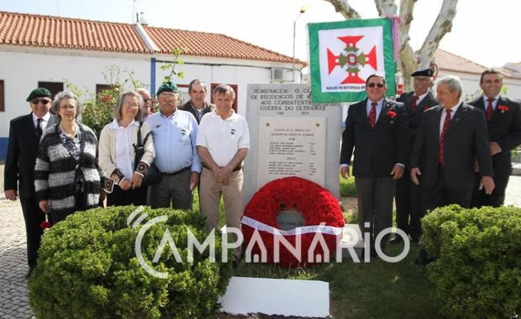 Reguengos de Monsaraz homenageou combatentes portugueses, nas comemorações do 25 de abril (c/som e fotos)