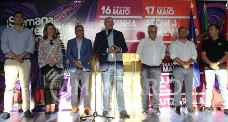 """Semana da Juventude e Académica de Elvas """"sai substancialmente mais barata"""" no Coliseu, diz Nuno Mocinha na inauguração (c/som e fotos)"""