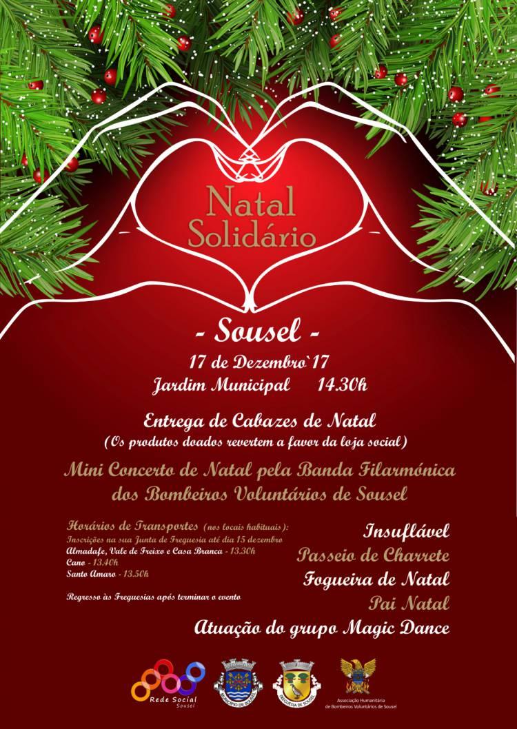 Sousel recebe mais uma edição do evento Natal Solidário