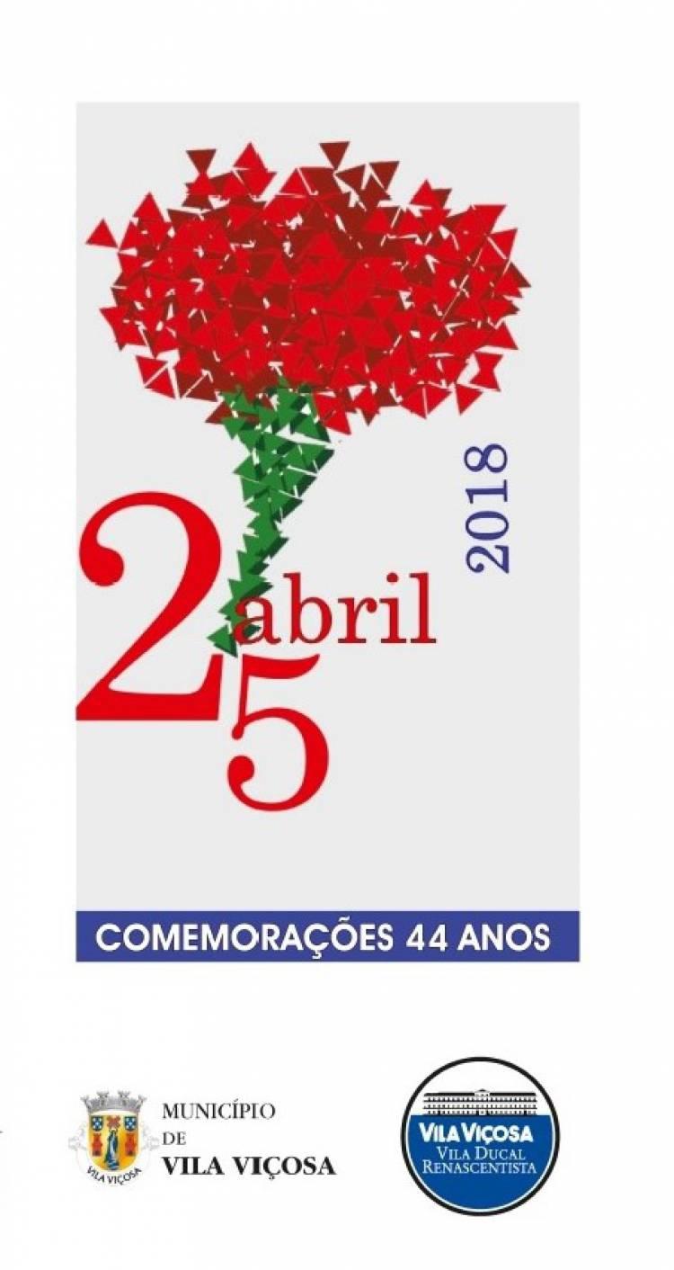 Vila Viçosa: Conheça o programa da comemoração do 25 de Abril