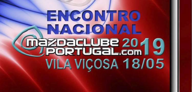 Encontro Nacional Mazda Clube Portugal em Vila Viçosa a 18 de Maio