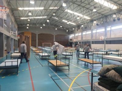 Covid-19 : Portalegre conclui dois Centros de Apoio com capacidade para cerca de 150 camas.