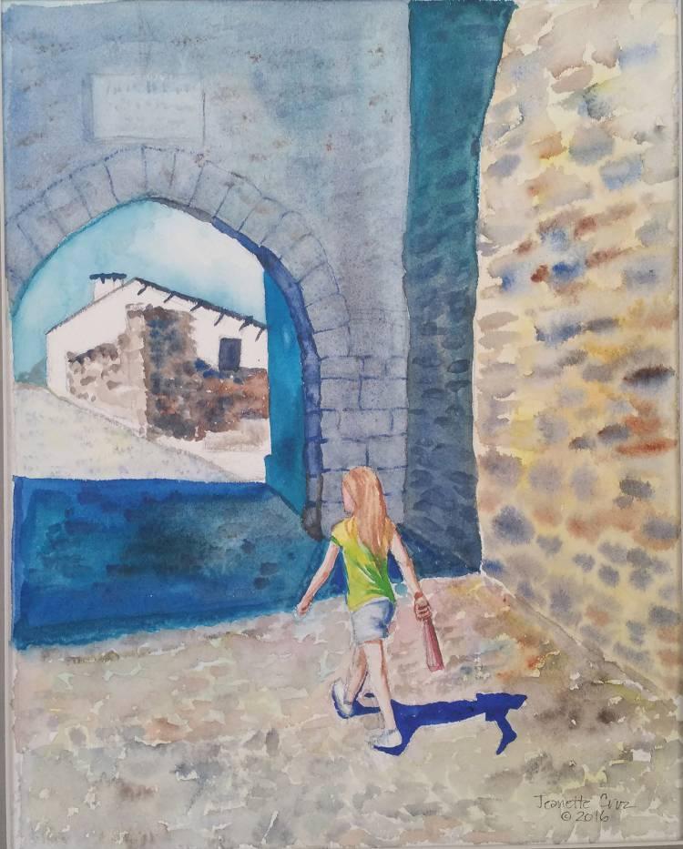 Jeanette Cruz e Mario Matteoli apresentam exposição de pintura em Monsaraz