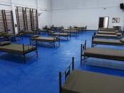 Serpa com pavilhão preparado para situações de emergência da COVID-19