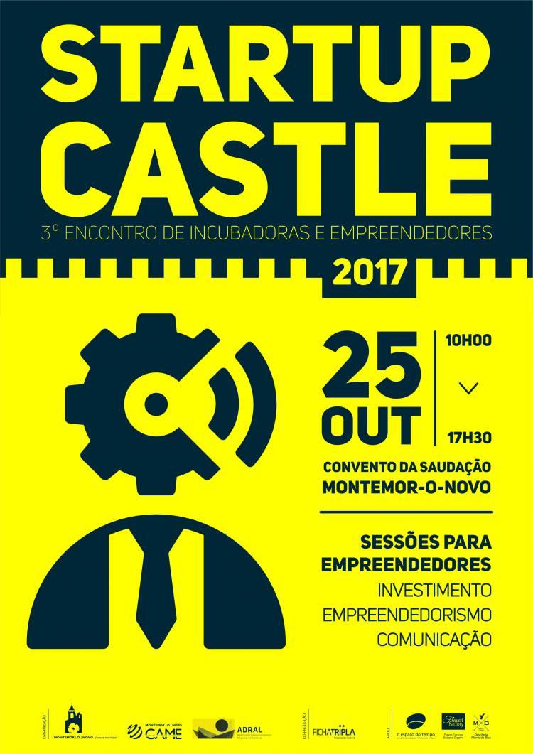 Montemor-o-Novo receberá 3ª edição do Startup Castle