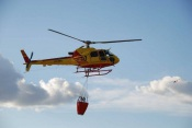 Ourique recebe helicóptero bombardeiro médio de combate a incêndios