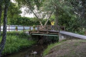 A ponte internacional mais pequena do mundo liga o Alentejo à Extremadura