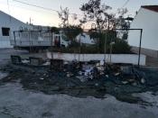 Mourão: Ecopontos ardem pela terceira vez. Município denuncia vandalismo