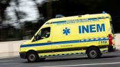Colisão entre ligeiro e um trator na EN 371, provoca dois feridos leves