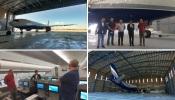 """Beja: Teste final do pavimento do hangar do aeroporto """"superado"""""""