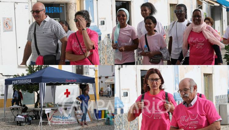 """VII Caminhada Pela Vida """"pretende angariar fundos para a luta contra o cancro"""", diz Pres. CVP de Vila Viçosa (c/som e fotos)"""