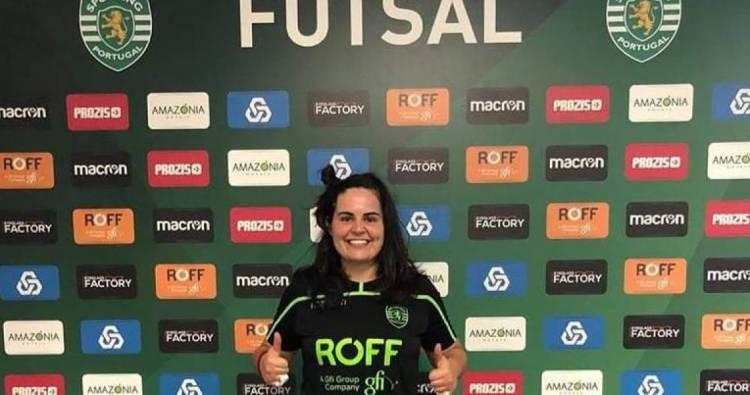 Guarda-redes da Universidade de Évora assina pelo Sporting