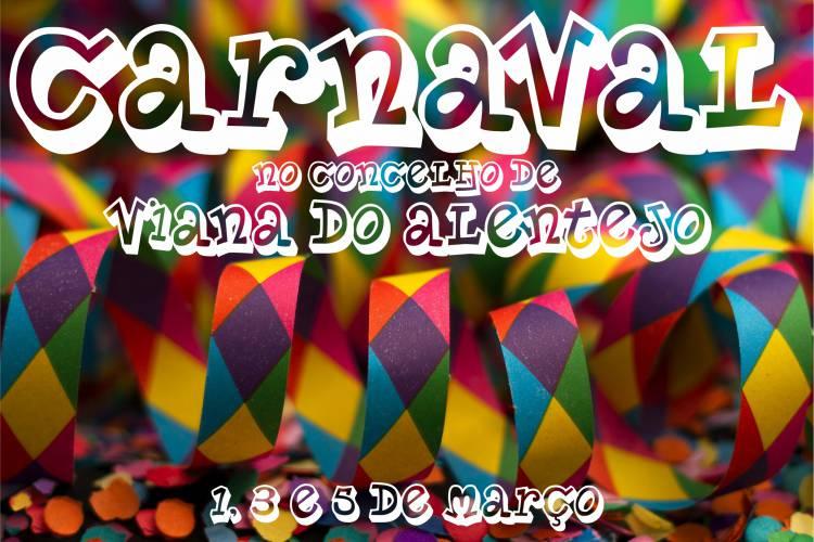 Carnaval com muita animação no Concelho de Viana
