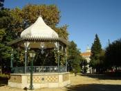 Reabilitação do Coreto do Jardim Público de Évora em execução