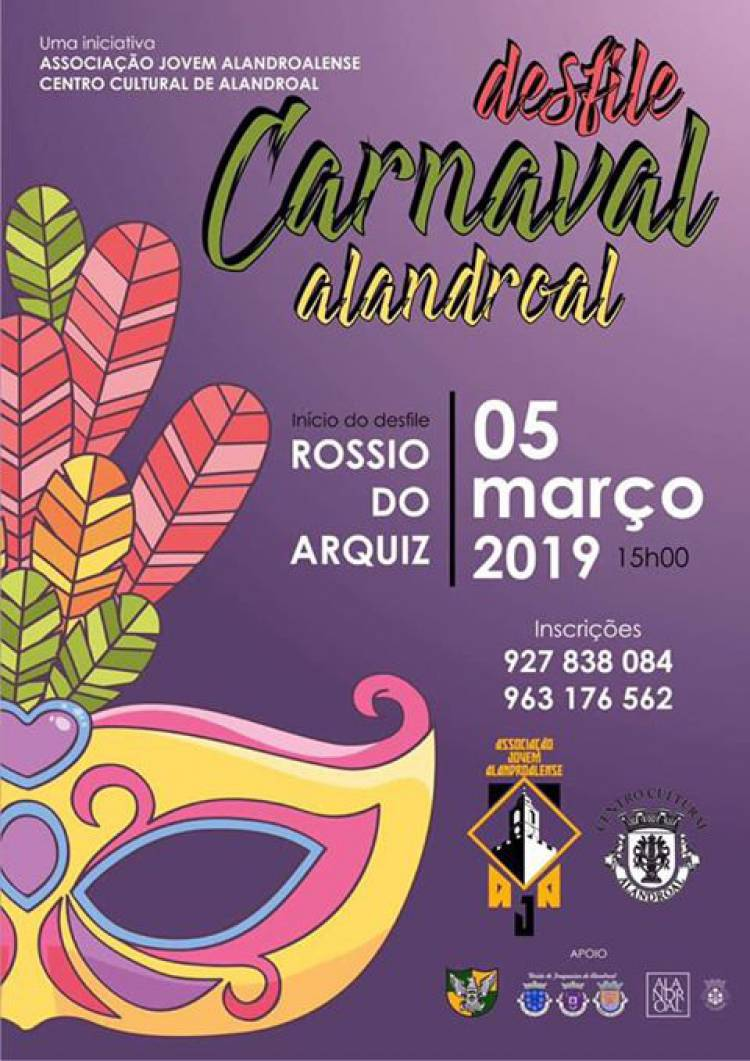 Desfile de Carnaval em Alandroal