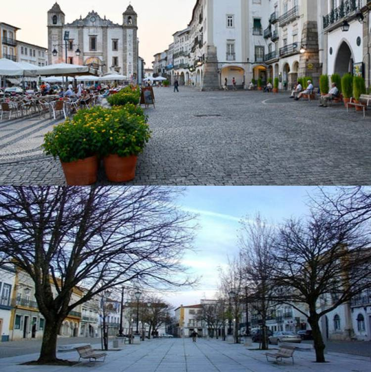 Évora e Beja são das cidades europeias mais procuradas para a Páscoa