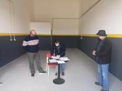 Centro de Microempresas de Aljustrel com todas as oficinas ocupadas