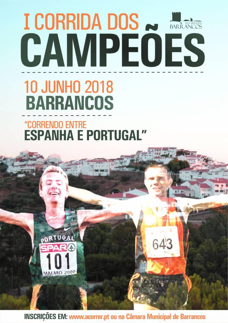 Barrancos receberá I Corrida dos Campeões