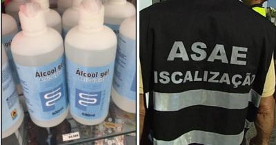 COVID-19: ASAE fiscaliza empresa que vendia álcool-gel a 24,95€