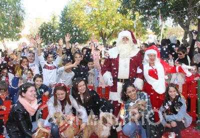 """Élia Quintas, vice-presidente da CM de Reguengos, """"este ano o Natal em Reguengos de Monsaraz tem algumas particularidades e algumas mudanças em relação a anos anteriores"""".(c/som e fotos)"""