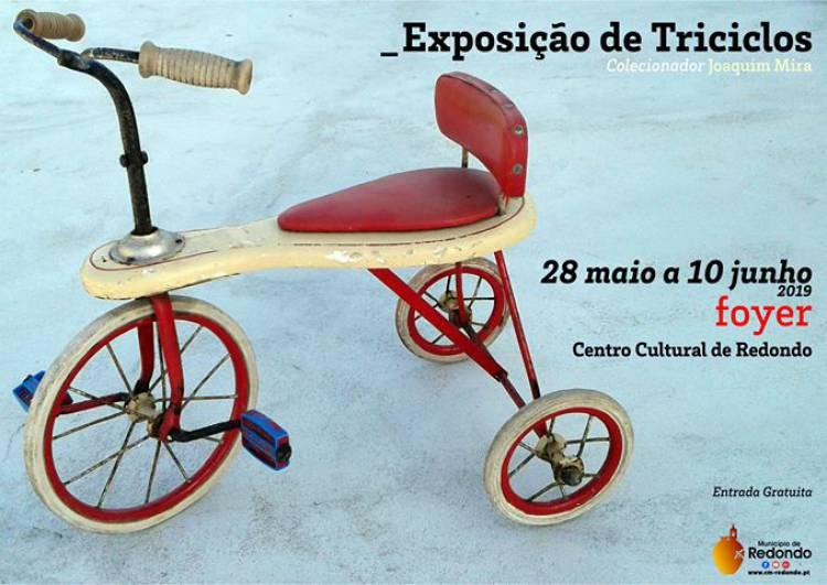 Centro Cultural de Redondo expõe triciclos antigos