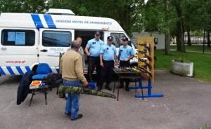 Comando da PSP de Portalegre promove ação de sensibilização sobre armas e explosivos
