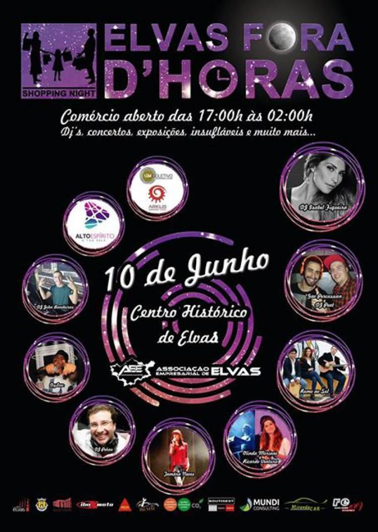 """Ass. Empresarial de Elvas promove este sábado """"Elvas fora D'Horas"""""""